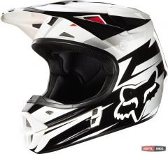 Мотошлем FOX V1 COSTA HELMET ECE черный