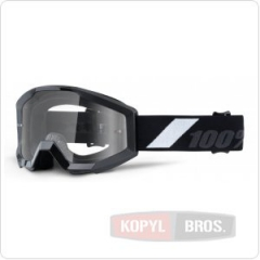 Детские мото очки 100% STRATA JR Goggle Goliath - Clear Lens