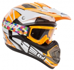 GEON 614 MX-Spirit White/Orange, фото №2, цена