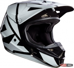 Мотошлем FOX V1 RACE HELMET, ECE [BLK], фото №2, цена