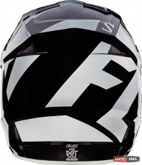 Мотошлем FOX V1 RACE HELMET, ECE [BLK], фото №4, цена