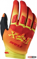 Мото перчатки FOX DIRTPAW IMPERIAL Glove красно-желтые, фото №1, цена